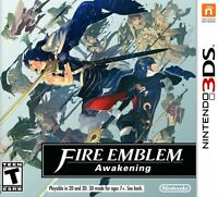 Fire Emblem: Awakening [Nintendo 3DS, Tactical Turn-based Strategy Story RPG]