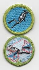 """Scuba Diving Merit Badge, Type L, """"Since 1910"""" Back (2015-Current), Mint!"""