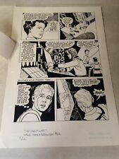 SPACE FAMILY ROBINSON #62 original art LOST IN SPACE, GHOST DAD, GOLD KEY!!!
