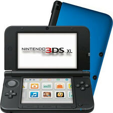 Nintendo 3ds XL Handheld Video Games Console Portable 3d Visuals Blue for Parts
