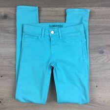 J Brand Skinny Bright Turquiose Women's Jeans Size 23 Fit W25 L29 (Q16)