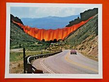 Christo and Jeanne-Claude fine art prints, 11 1/8