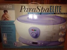 Brand New Homedics Paraspa Elite Heat Therapy Paraffin Bath Par-270
