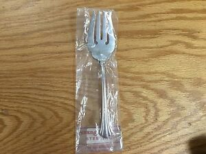 Reed& Barton Sterling 18 Century Cold Meat Fork