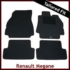Renault Megane Mk2 2002-2008 Fully Tailored Fitted Carpet Car Mats BLACK