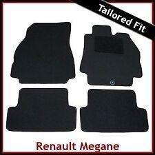 Renault Megane Mk2 2002-2008 Fully Tailored Fitted Carpet Car Mats BLACK