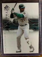 Frank Thomas Baseball Card #14 SP Authentic Oakland Athletics Free Ship MLB HOF