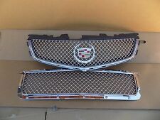 2009 2010 2011 2012 2013 2014 CADILLAC CTS-V CROME MESH GRILL GRILLS OEM NEW