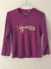 Leslie Jordan 3/4 Sleeve Athletic Shirt 29th Annual Winter Sun 10K 2011 Moab XS