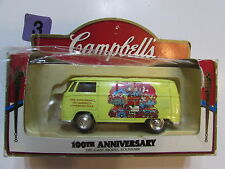 CAMPBELLS 100TH ANNIVERSARY OF CAMPBELLS CONDENSED TOMATO SOUP VW VAN