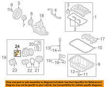 MINI OEM 07-15 Cooper Engine Parts-Oil Cooler Gasket 11428643747