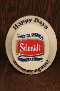 Schmidt Beer Vintage Hat Happy Days are Here Again!