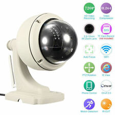 Wireless IP Camera Dome IR Night Vision WiFi IR-Cut Outdoor Security Cam Hot US!