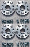 Wheel Spacer Adapters 20 mm 5x112 To 5x114.3 4 PCS + Low Profile Bolts Mercedes