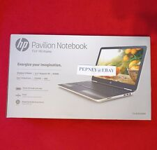 "HP Pavilion 15-AU020WM 15.6"" Gold Laptop Intel i5-6200U/8GB/1TB/Win10/DVD RW NEW"