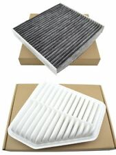 Combo Set Engine & Cabin Air Filter for 2006-2012 Toyota RAV4 2.4L 2.5L 3.5L