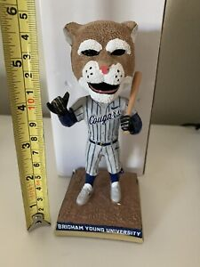 BYU UTAH Cosmo The Cougar Bobblehead College Baseball Mascot 6""