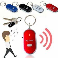 3Stk Schlüsselfinder Pfeifen Whistle mit LED Lampe Schlüssel Key Finder Anhänger