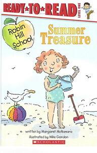 Robin Hill School SUMMER TREASURE - NEW Scholastic Paperback Level 1 SALE