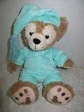 "My First Disney Parks Teddy Bear Tan Green Pajamas Duffy Hidden Mickey 13"""