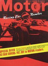 Motor magazine 13/5/1967 featuring Unipower GT road test, Audi
