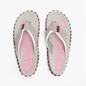 Gumbies CAIRNS Ladies Womens Stylish Casual Trendy Jersey Flip Flops Pink