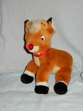 Macy's 1998 Rudolph the Red Nosed Reindeer Stuffed Plush Toy