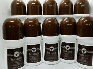 Avon Wild Country Roll-On Antiperspirant Deodorant 2.6 oz. lot of 10