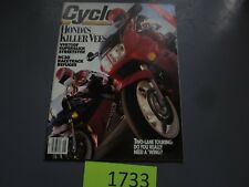 MAY 1990 CYCLE MAGAZINE,HONDA KILLER VEES,COVER,RC30 RACETRACK REFUGEE,COURT,AMA