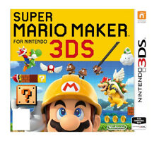 Super Mario Maker (Nintendo 3DS, 2016) Case & Manual ONLY**NO GAME