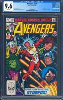 Avengers 232 (Marvel) CGC 9.6 White Pages Starfox joins the Avengers