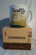 Starbucks Seattle Icon Mug version 1 (Mt. Rainier) Tasse USA Incl. SKU Sticker