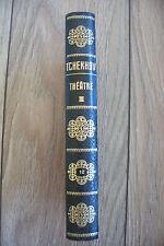 livre ancien Anton Tchekhov Théâtre III 1958 édition Rencontre 1965