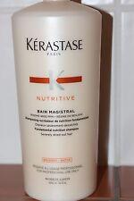 1000ml KERASTASE SHAMPOO bain magistral  NUTRITIVE neu
