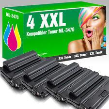 4 XXL Toner für Samsung ML-D3470B ML 3471 ND