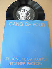 "GANG OF FOUR At Home He's a Tourist 7"" EMI 2956 FACTORY SAMPLE PROMO RARE"