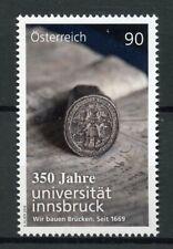 Austria 2019 MNH Innsbruck University 350 1v Set Universities Education Stamps