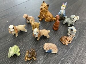 COLLECTABLE ANIMAL ORNAMENTS - WHIMSIES - WADE JOBLOT