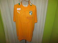 """Elfenbeinküste """"CAF"""" Nr.375 Puma WM Qualifikation Trikot 2012-2013 Gr.XL Neu"""