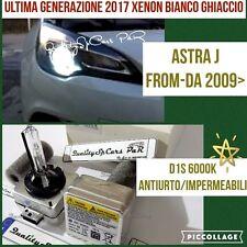 2 Lampadine XENON D1S OPEL ASTRA J 2009> cdti fari HID 6000K RICAMBIO Luci GHIAC