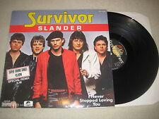 Survivor - Slander  12'' Vinyl Maxi