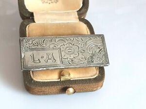 Zauberhafte antike Brosche Silber 900, Jugendstil um 1910/20, feines Dekor