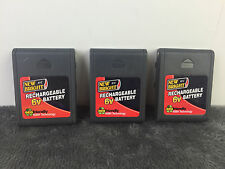 3x 6V Battery New Bright Remote R/C Rechargeable Battery 6 V NiMH
