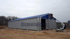 Industrie-Lagerhalle 12,5x25x4,3 sk 90kg Schneelasthalle Leichtbauhalle Aluhalle