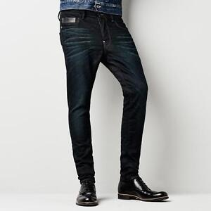 G-Star Men Blades SLIM TAPERED Jeans COMFORT TRIBE DARK AGED Size 28 Length 32