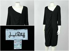 Womens Joseph Ribkoff A-Line Dress Party Cocktail Black Size UK 20 / USA 18