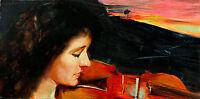 Adagio by Tom Roberts A1 High Quality Canvas Print