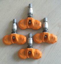 4X NEW HUF/BERU TPMS SENSORS FOR AUDI A4 A6 Q7 R8 RS4 RS7 S4 S6