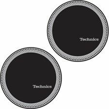Technics Slipmat Strobe Silver on Black