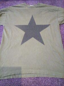 Rem t shirt large green original 1995 tour vintage rock pop indie